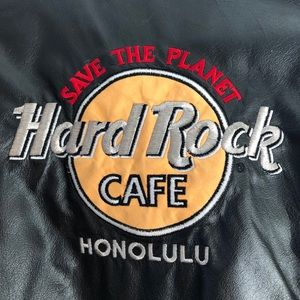 Other - RARE VINTAGE HARD ROCK CAFE HONOLULU LEATHER